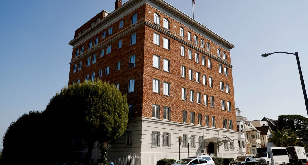 Russian envoy to US to inspect San Francisco consulate