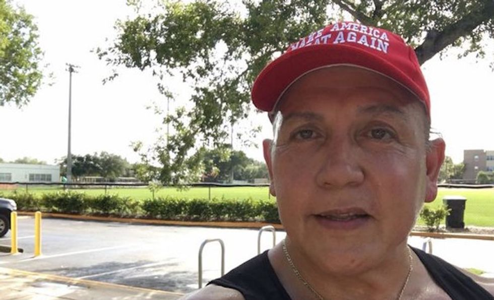 Manager of pizza shop where MAGAbomber worked reveals scary details about his racist views
