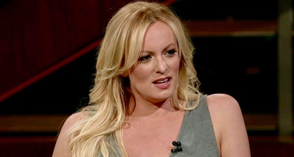 Watch: HBO's Bill Maher embarrasses Stormy Daniels with Trump sex questions in R-rated interview