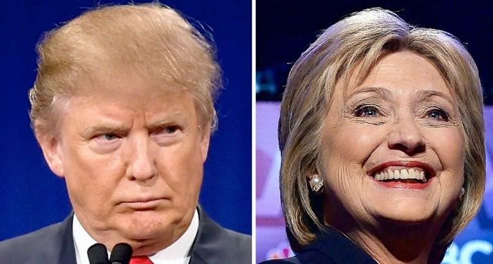 Clinton leads Trump by five points in White House race: Reuters/Ipsos