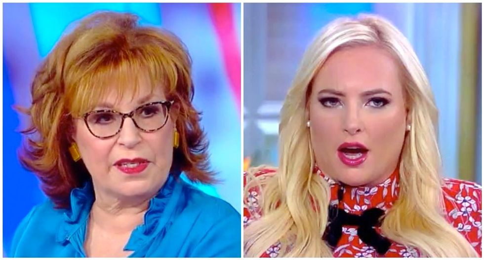The View's Joy Behar snaps after Meghan McCain interrupts her twice to complain