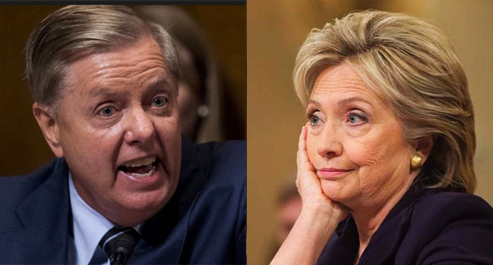 Lindsey Graham looking to take over Judiciary Committee so he can investigate Hillary and the FBI: report