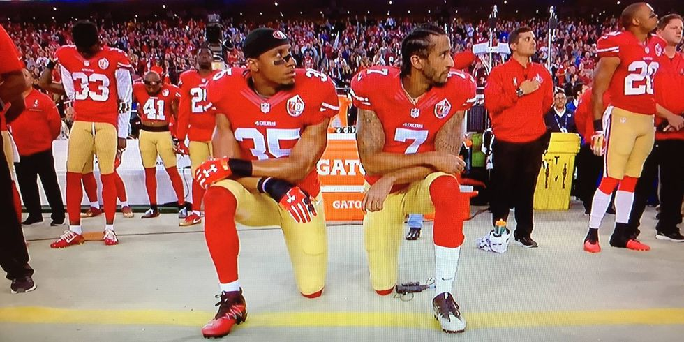 Super Bowl Sunday and 'taking the knee': Here are 6 times the national anthem protests rocked America