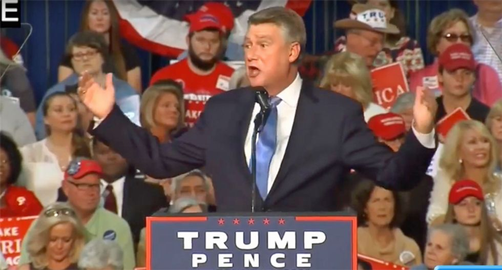 GOP candidate slams his 'arrogant' and 'judgmental' son who warned him about breaking election laws in North Carolina