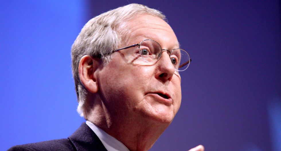 McConnell blocks resolution calling for release of Mueller report because it would be 'politically advantageous to one side'