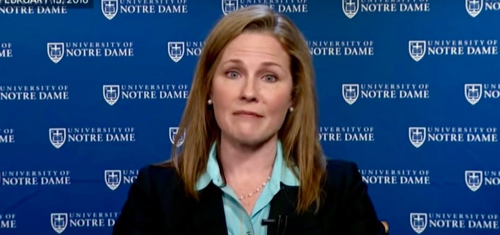 Amy Coney Barrett's signing 'extremist' anti-choice ad confirms worst fears of reproductive rights advocates