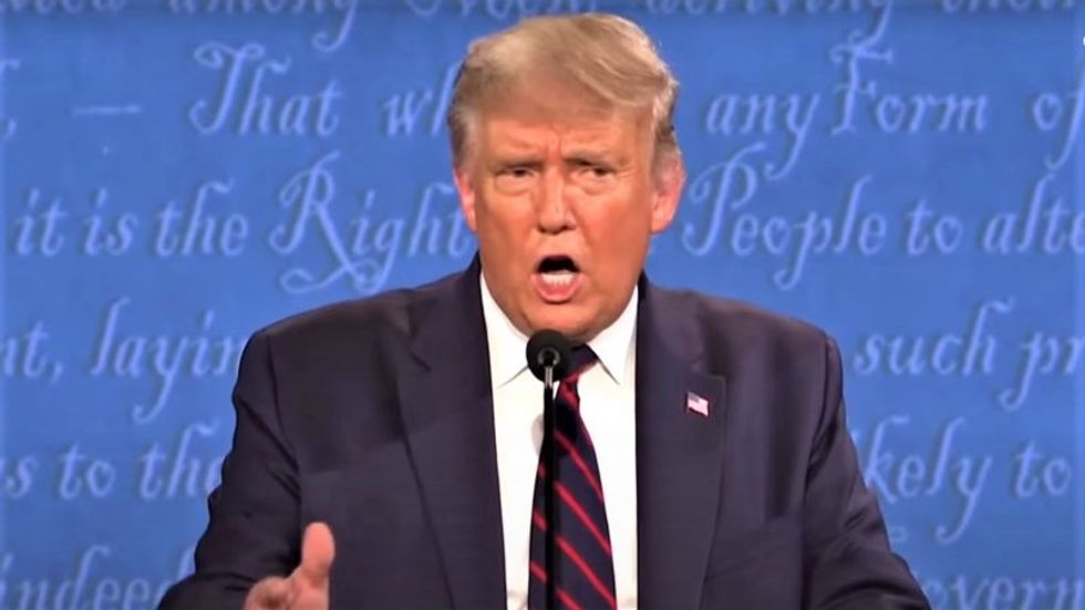 These were the 6 most revealing moments from Tuesday night's debate as Trump unleashed a torrent of rage