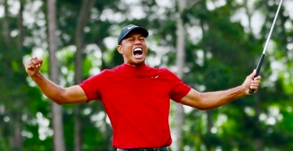 Tiger Woods vows victory in star-studded charity match