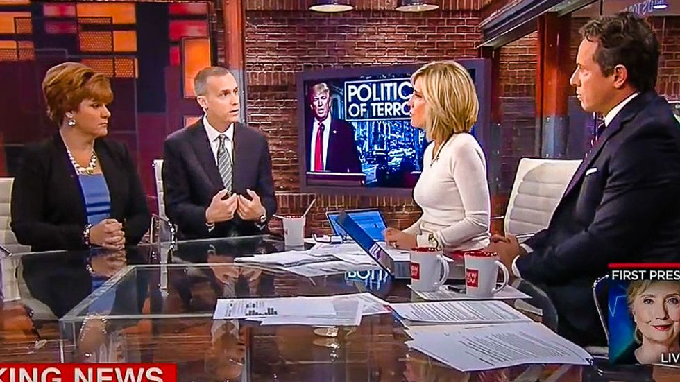 'Factually untrue': Corey Lewandowski gets CNN smackdown for blaming NYC blast on immigrants