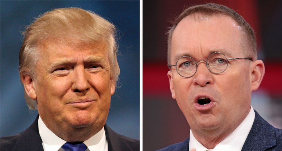 Trump polling close friends over whether he should fire Mulvaney: report