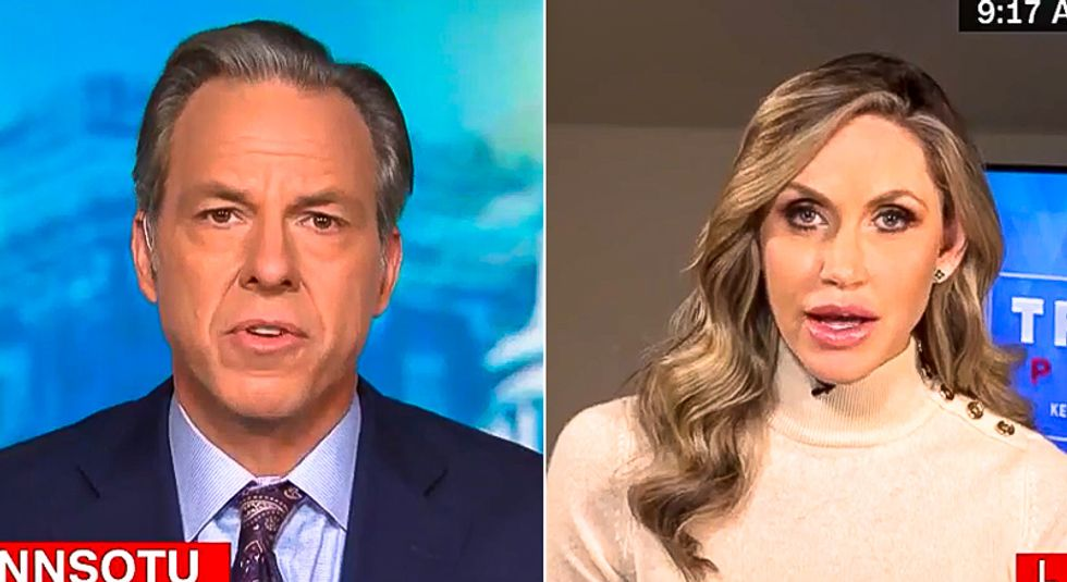 'You have no standing': Jake Tapper cuts Lara Trump interview after she links stuttering to 'cognitive decline'