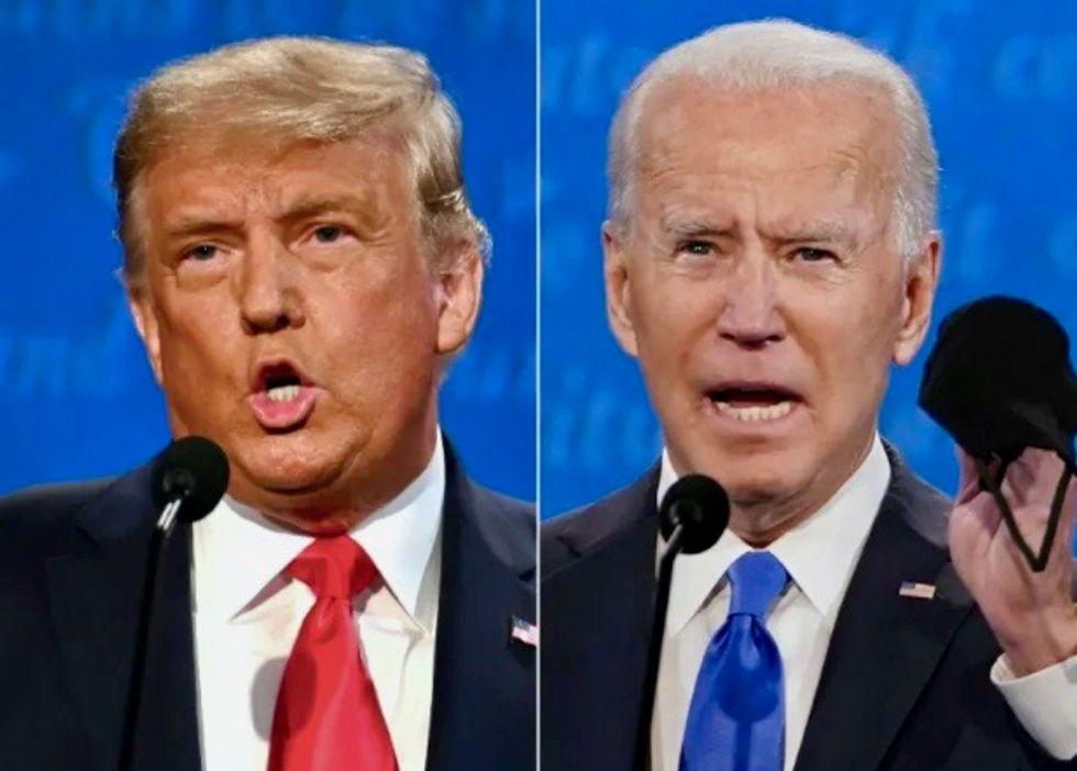 Biden warns of 'dark winter' of COVID-19 in final Trump debate