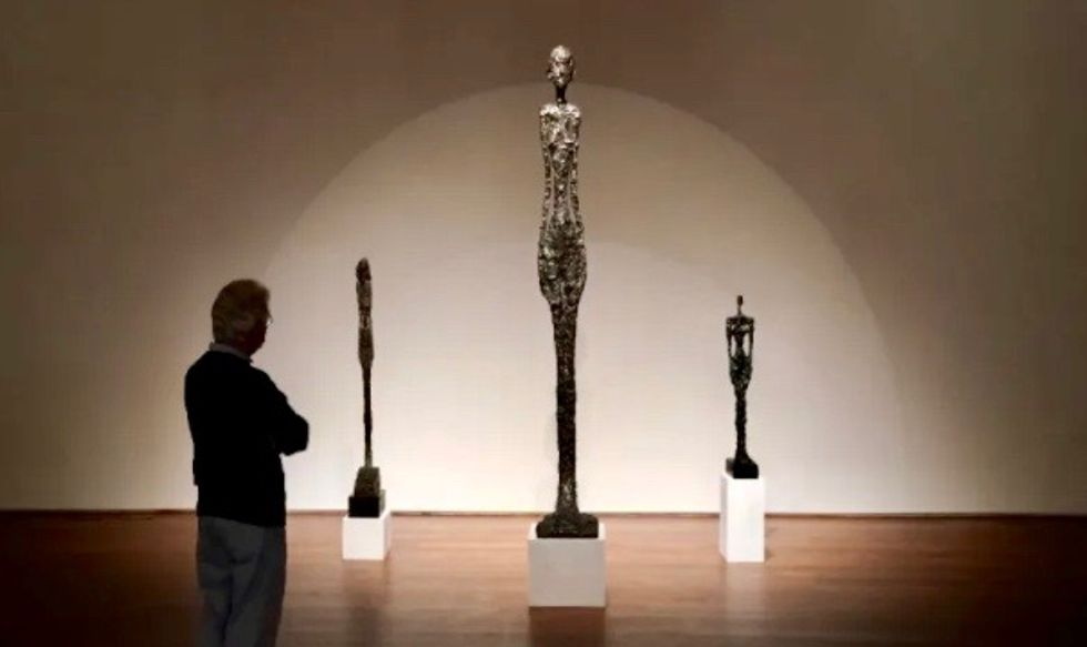 Giacometti sculpture in sealed bid auction - starting price $90 million