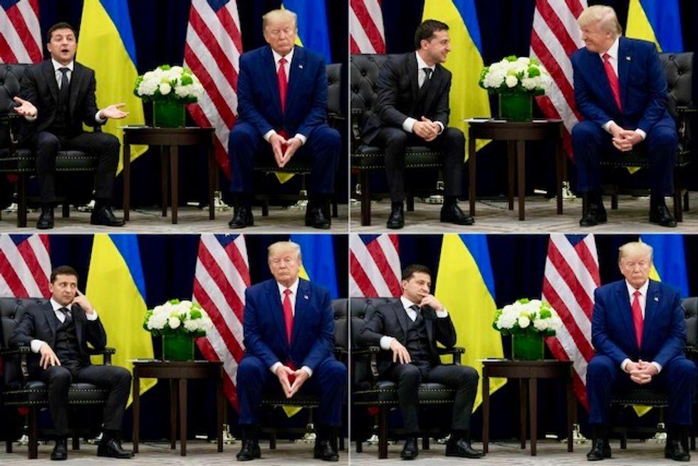 Fact Check: Trump's false account of the Ukraine episode