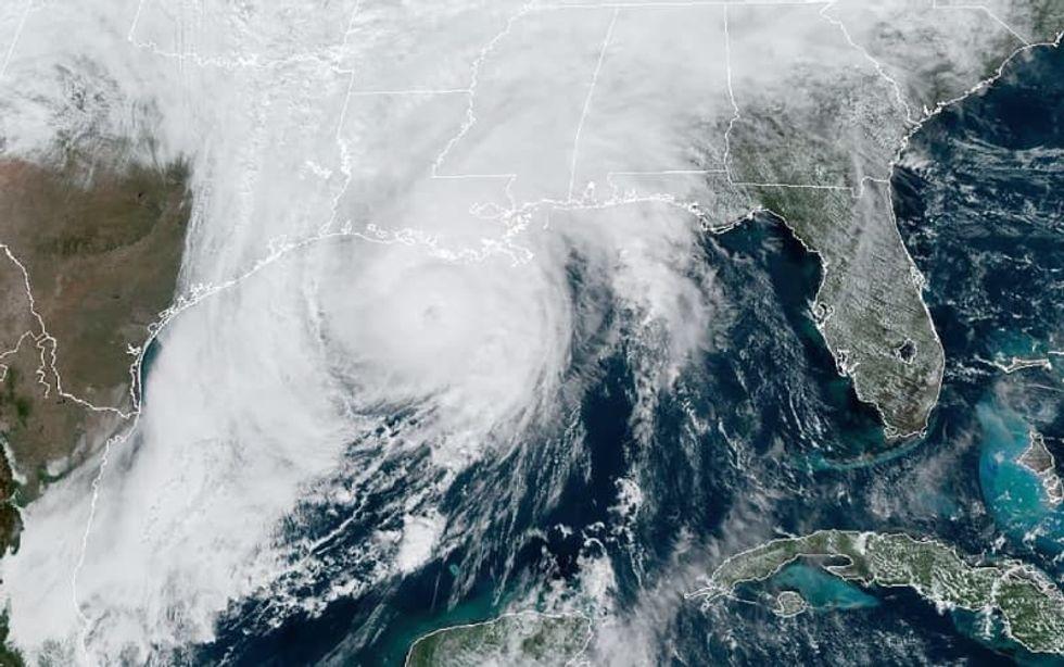 Zeta slams into southern US -- downgraded to tropical storm