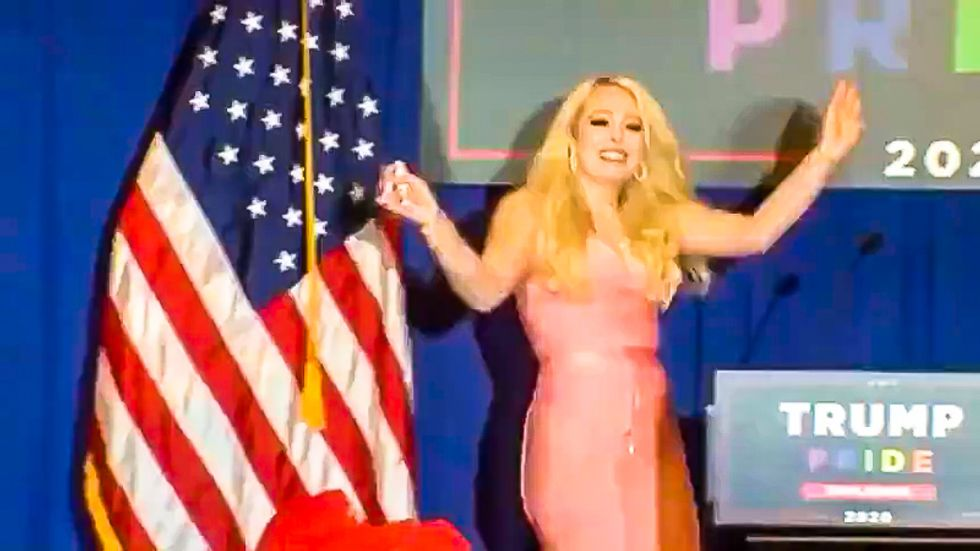 Tiffany Trump holds trainwreck LGBTQ event for dad's reelection: 'Prior to politics, he supported gays'
