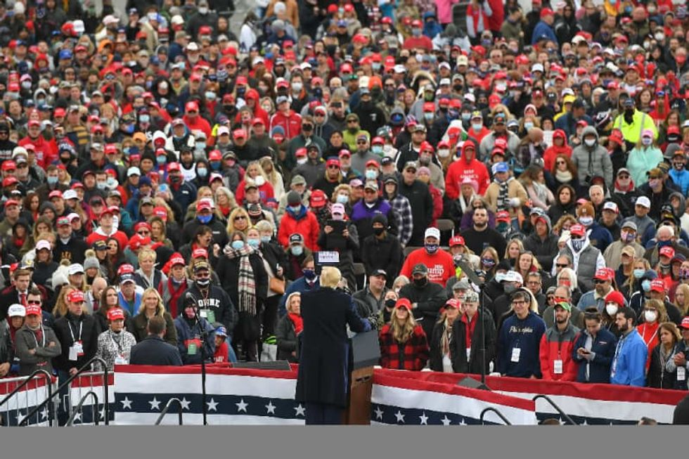Trump's rallies -- victory cry or last gasp?