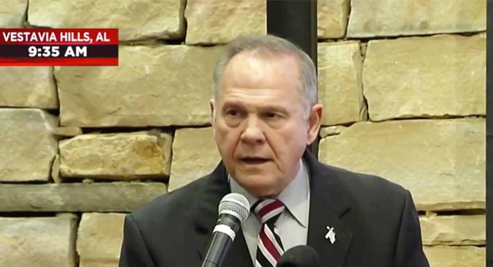 Female Roy Moore official sends out last minute talking point memo on how to discredit sex abuse accusers