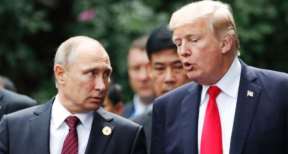'You're still Putin's b*tch': Twitter rails against Trump's 'propaganda' campaign video