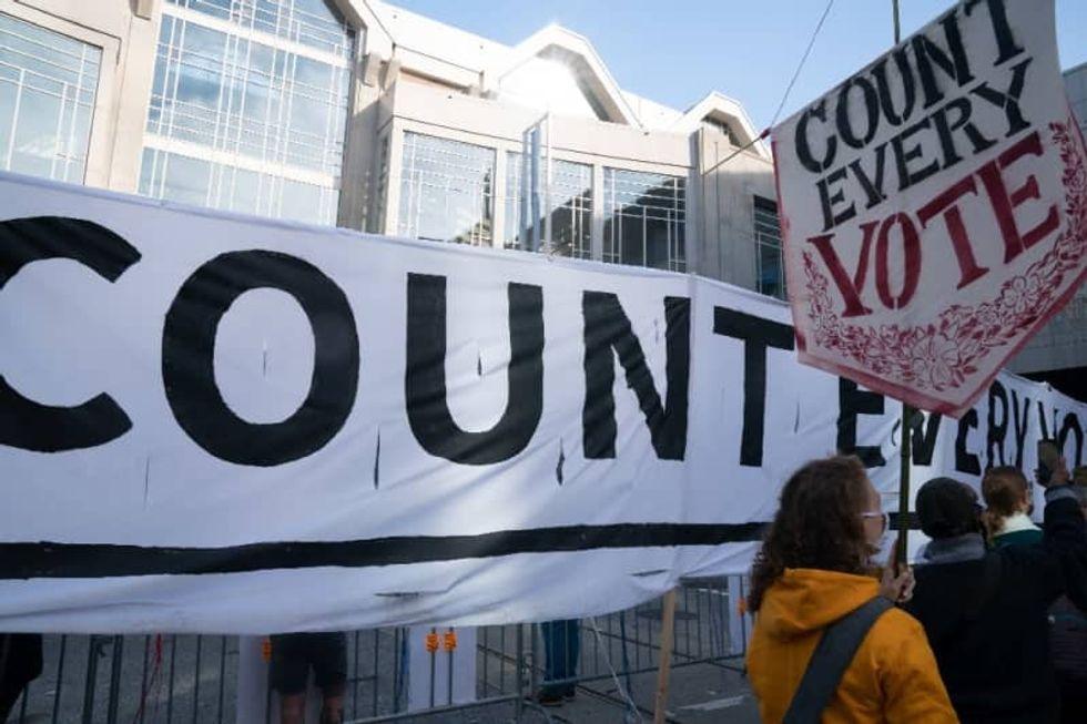 Supreme Court denies immediate halt of Pennsylvania vote count