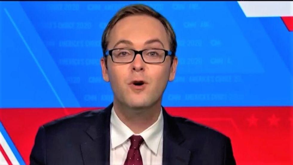 'Serial dishonesty': CNN fact checker says Trump spewed falsehoods from 'his very first sentence' at debate