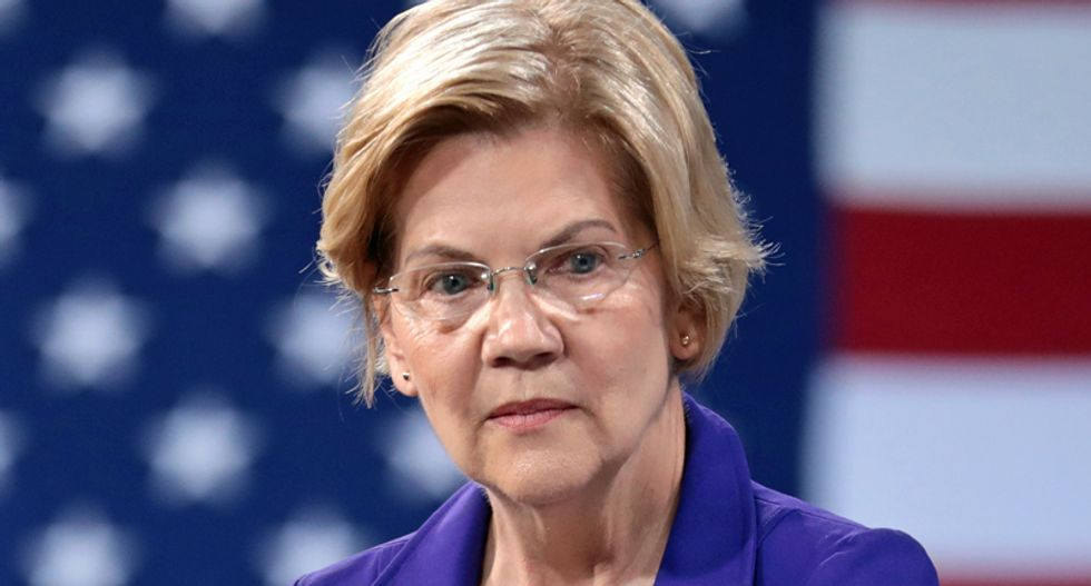 As Senate Dems hold talkathon in protest, Elizabeth Warren condemns GOP vote on Barrett as 'last gasp of a desperate party'