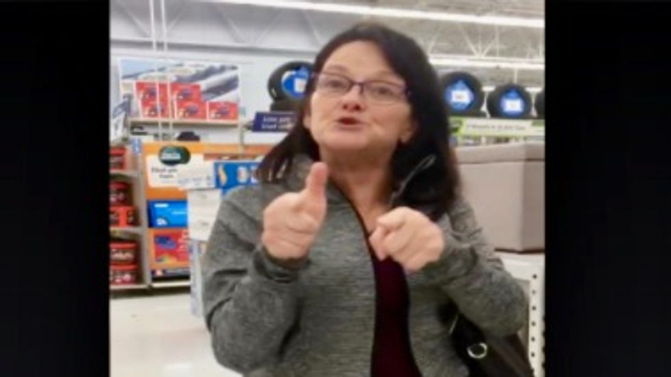 A Black Friday 'fight' at Walmart is going viral and nobody throws a single punch