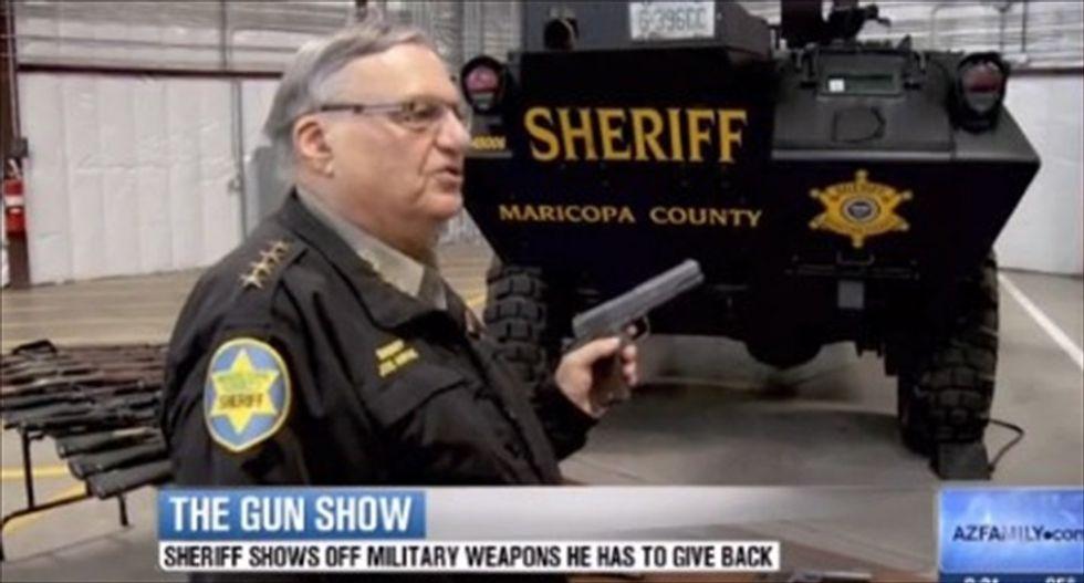 Arizona Sheriff Joe Arpaio sues Obama over 'unconstitutional' immigration order