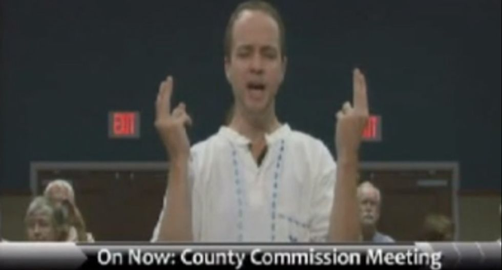 Watch: FL County Commissioner walks out to avoid hearing pagan's 'satanic' invocation