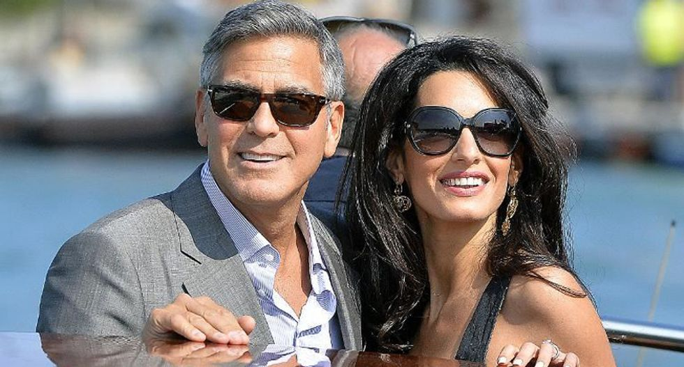 'World's most eligible bachelor' George Clooney weds lawyer, activist Amal Alamuddin in Venice