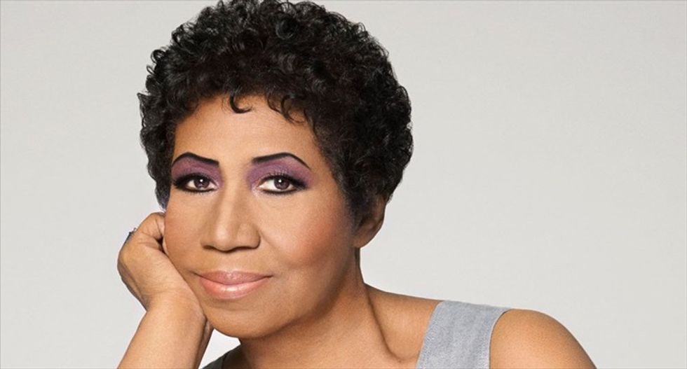 Aretha Franklin's version of Adele's 'Rolling in the Deep' will blow you away