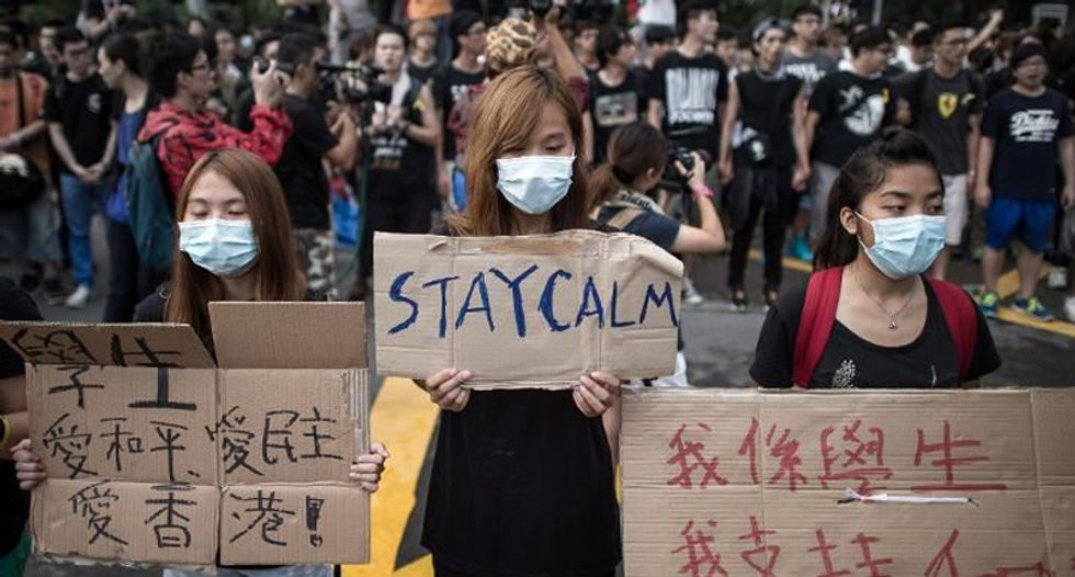 Hong Kong protesters gear up for biggest demonstration yet