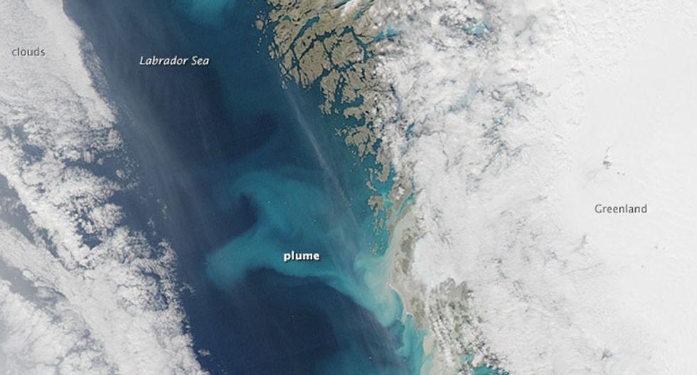 Greenland sediment sheds light on sea level rise