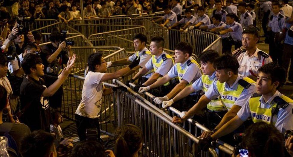 China tells US to back off: Hong Kong democracy protests are 'internal affairs'