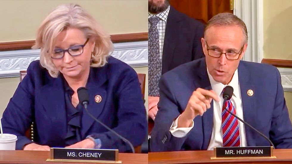 'This is fiction!' Dem strikes back at Liz Cheney after she bizarrely claims Green New Deal will 'outlaw plane travel'