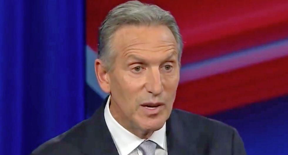 Billionaire Howard Schultz destroyed online for racial insensitivity during CNN's #SchultzTownHall