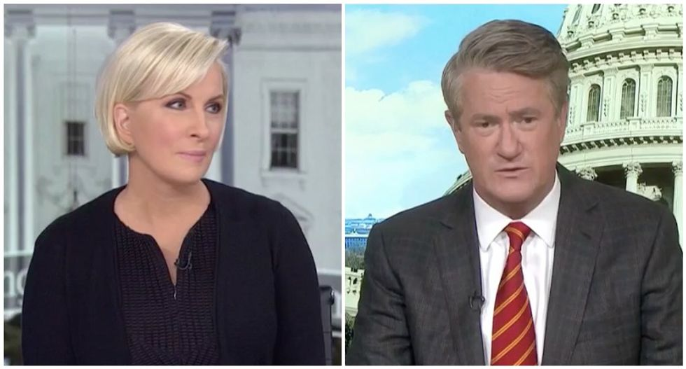 Morning Joe panel torches Trump lovers for cheering lies about the wall: 'It all seems racist, sorry'