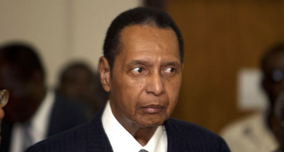 Former Haitian dictator Jean-Claude 'Baby Doc' Duvalier dead of heart attack at 63