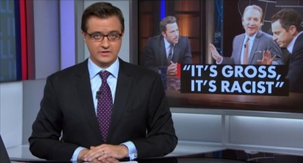 MSNBC's Chris Hayes: Why isn't Bill Maher talking to Muslims about Islam?