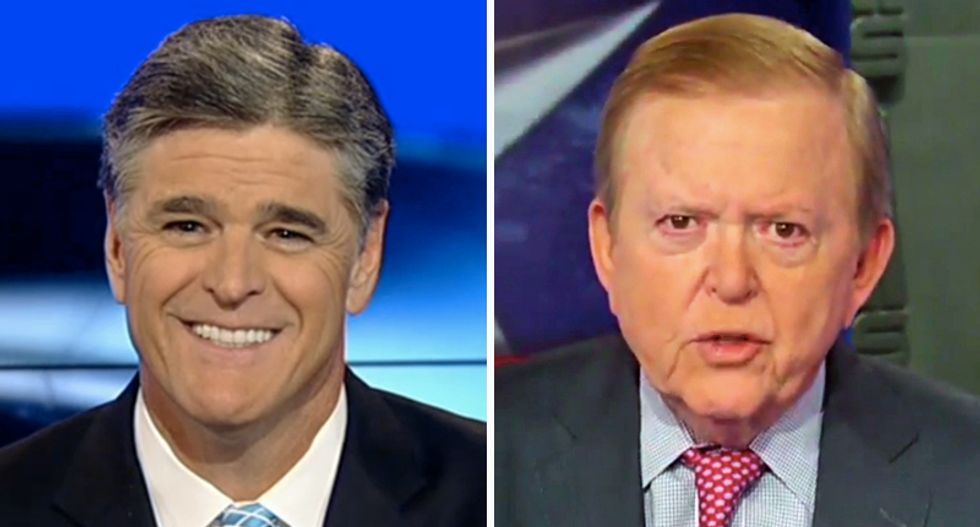 Trump is freaking out about the DHS because Fox's Lou Dobbs and Sean Hannity keep yelling at him: WaPo reporter