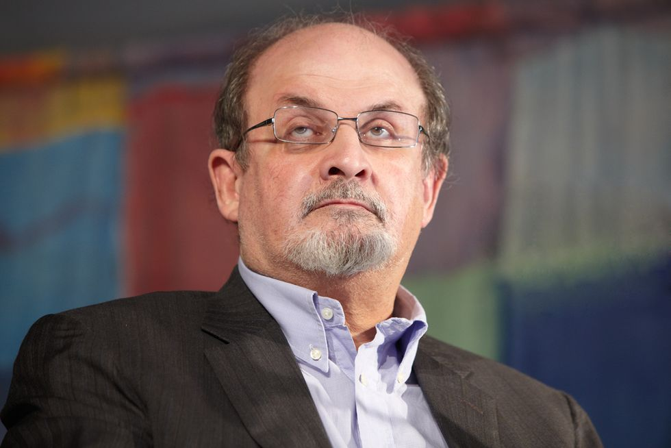 Salman Rushdie defends the absolute right to free speech against 'the but-brigade'