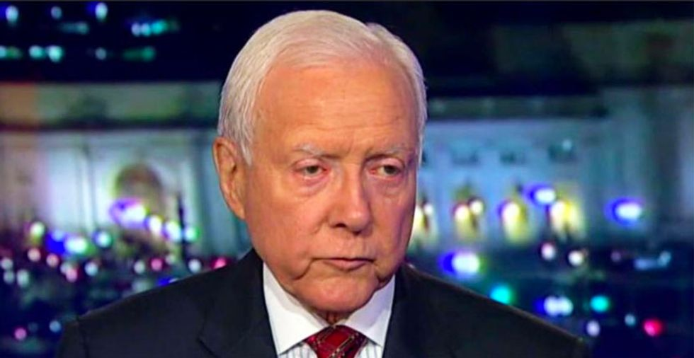 Orrin Hatch: Even if Kavanaugh committed rape 'it would be hard for senators not to consider who he is today'