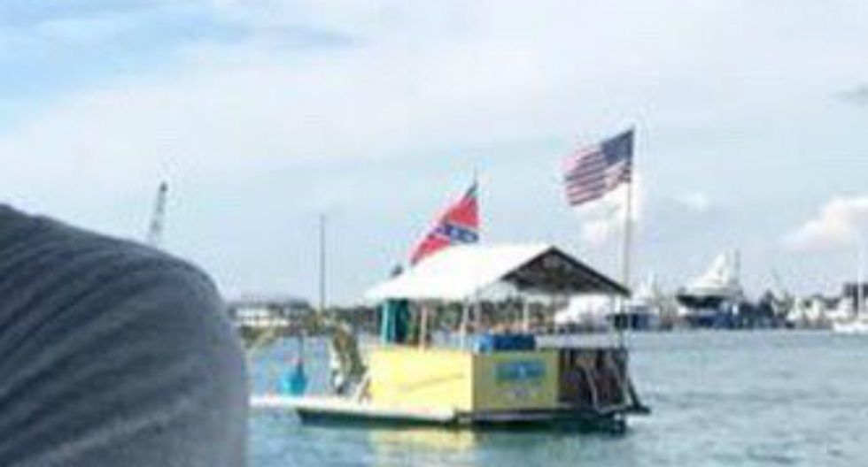 Ivanka Trump's holiday vacation photos include shot of a Confederate flag