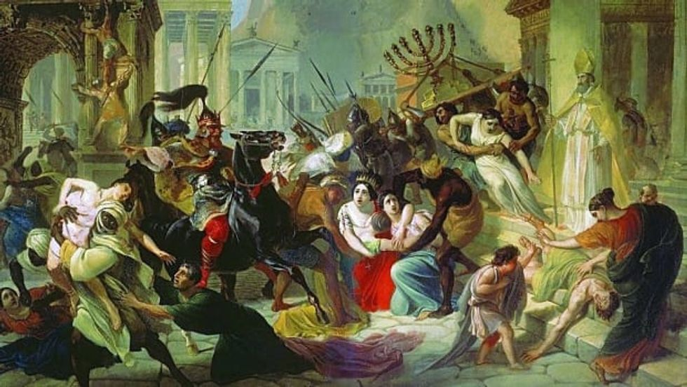 America has a lot to learn from the fall of the Roman Empire