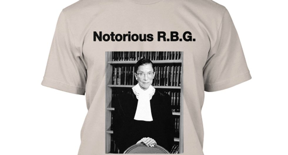 Ruth Bader Ginsburg says thing about gay marriage, National Review writer shrieks, clutches pearls
