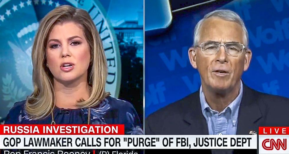 'Where's the evidence?' CNN's Briana Keilar befuddles GOPer who wants to 'purge' paralegals and staffers at DOJ