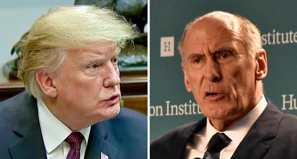Trump privately raging at DNI head Coats for lack of loyalty: 'He's not on the team'