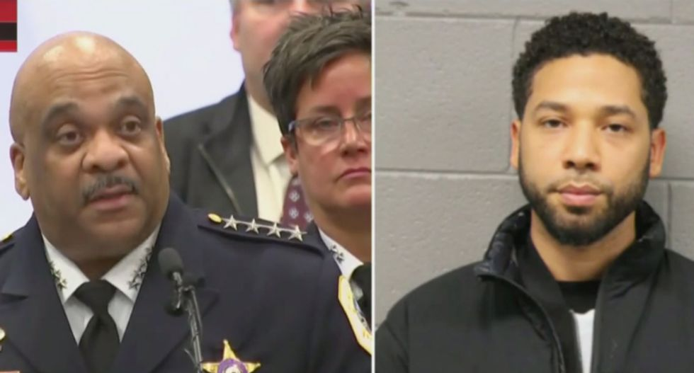 Chicago's top cop destroys Jussie Smollett for staging hate-crime hoax to promote his career