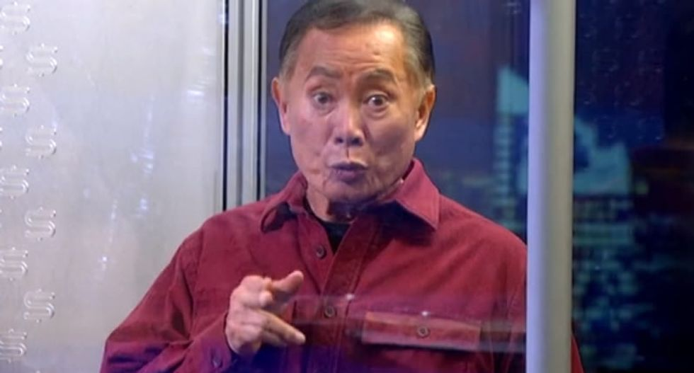 George Takei brilliantly mocks Donald Trump's inability to answer a simple question