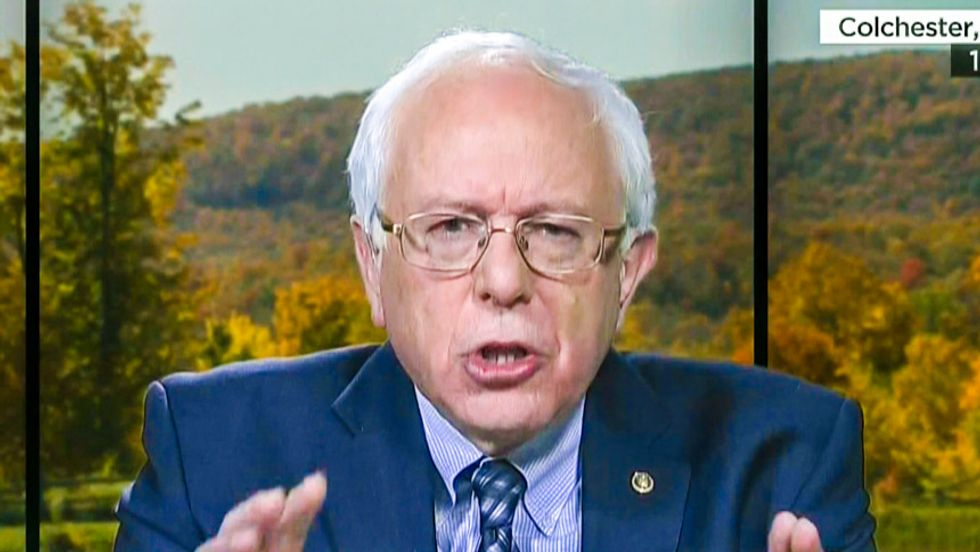 Citing Koch brothers, Bernie Sanders calls for 'political revolution' against 'the billionaire class'
